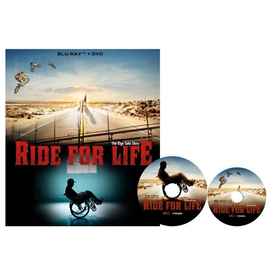 RIDE FOR LIFE ~The Eigo Sato Story~ Blu-ray&DVDセット / ULTRA BANZAI MAGAZINE付