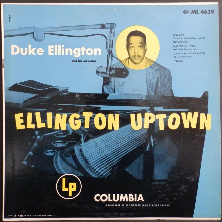 MONO 両面 深溝 6 eyes DUKE ELLINGTON Uptown US盤 デューク・エリントン 名盤 ML 4639 モノラル