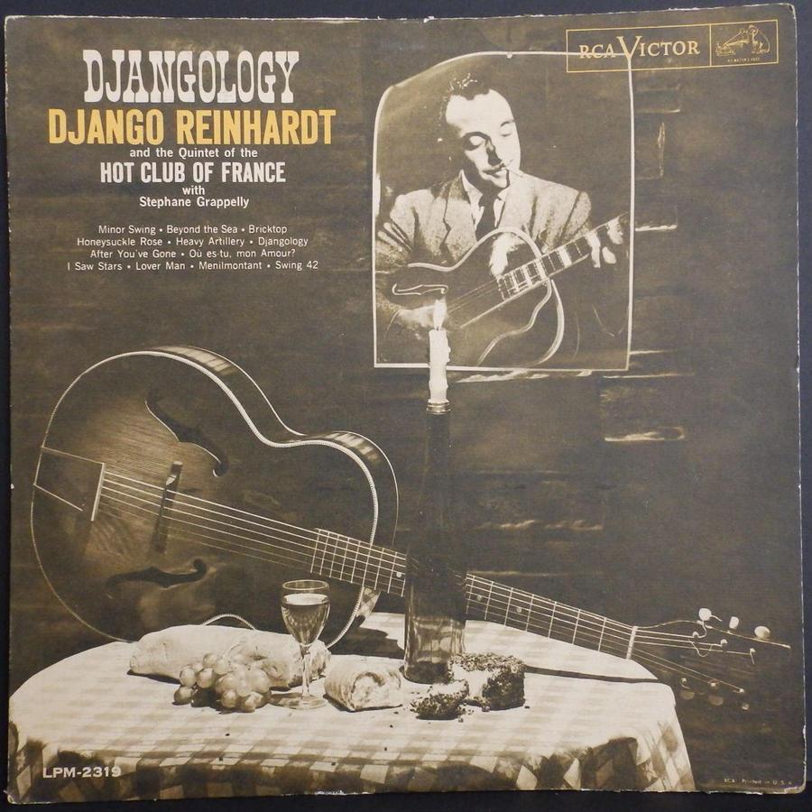 完全 オリジナル 歴史的 名盤 MONO ニッパー 深溝 ザラ紙 RCA US DJANGO REINHARDT Djangology ジャンゴ・ラインハルト