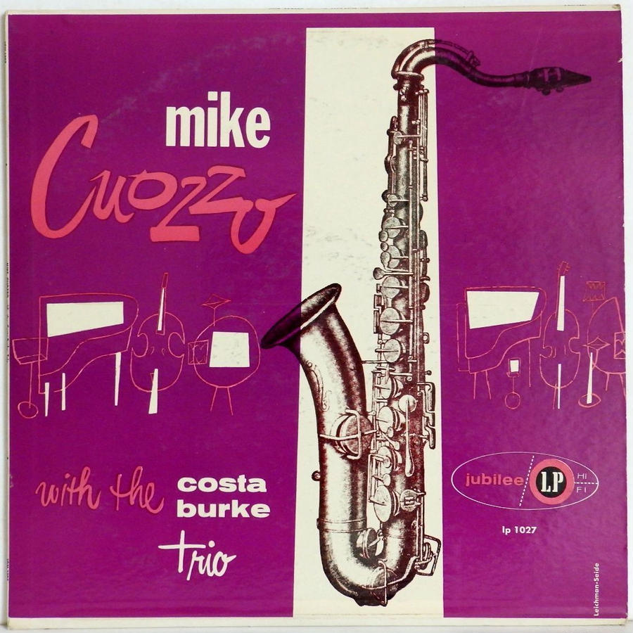 激レア 黒少 ラベル MONO Jubilee US盤 MIKE CUOZZO with the burke trio Eddie Costa 参加 マイク・コゾー