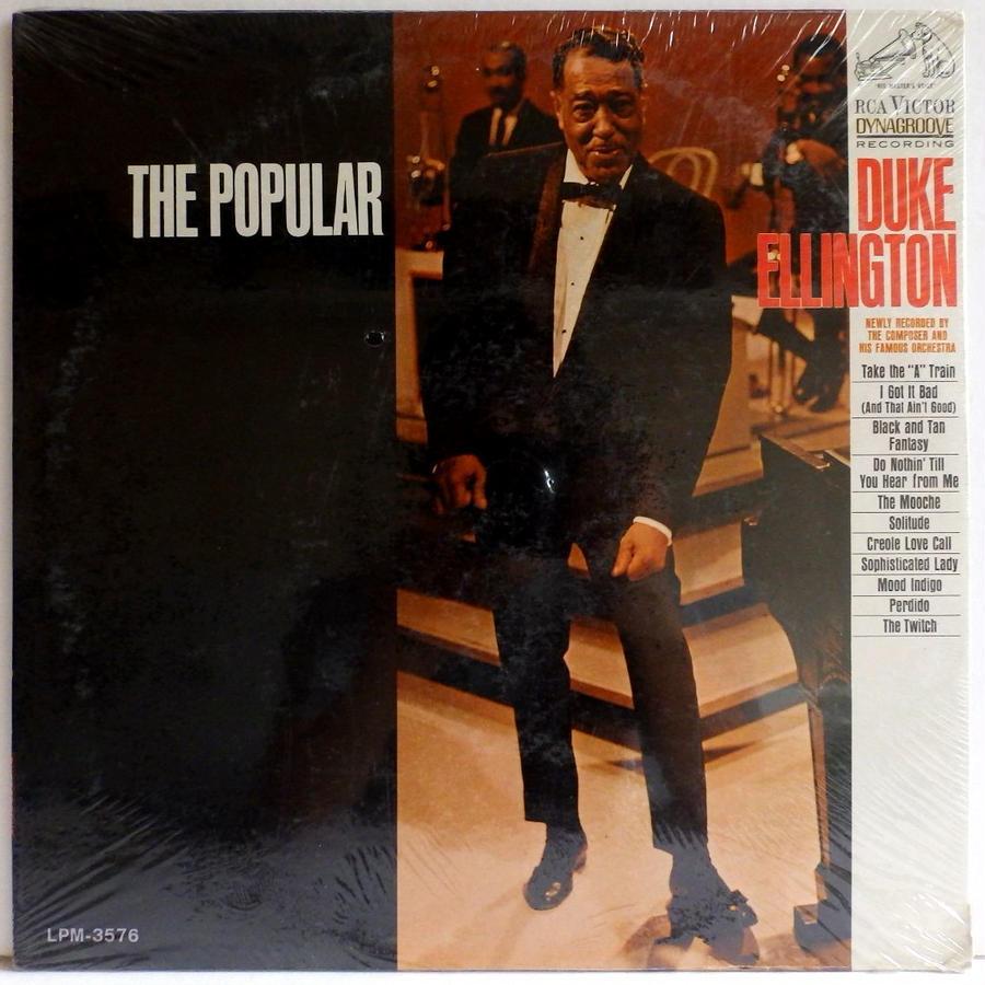 未開封!! MONO 完オリ 極上 美盤! 深溝 名曲 DUKE ELLINGTON The popular US盤