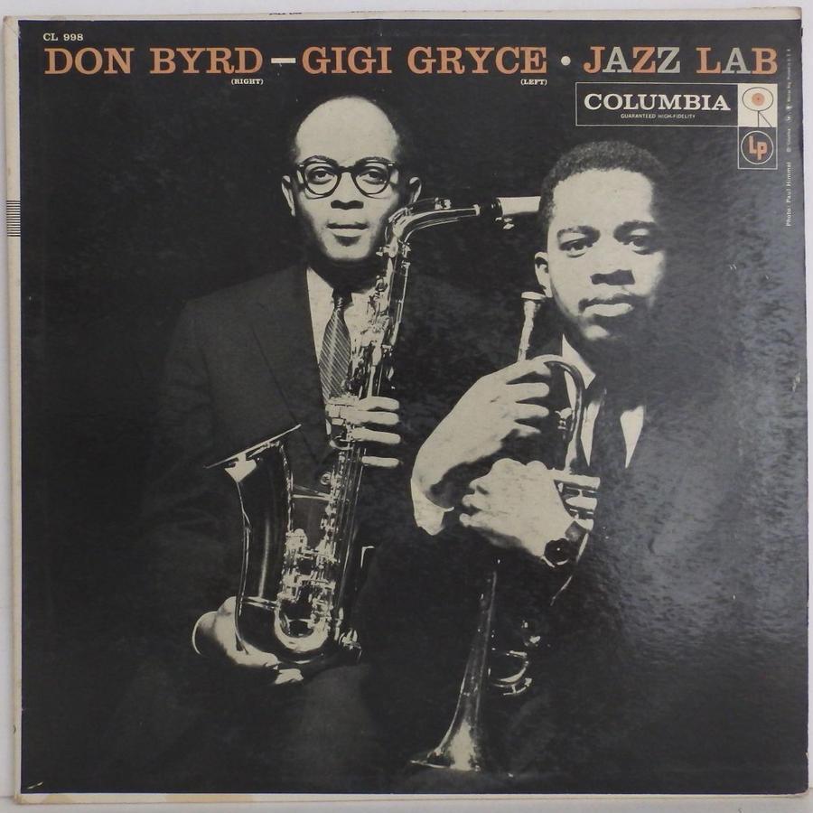 ★白プロモ 高音質★完全 オリジナル 6 eyes 深溝 DONALD BYRD Jazz lab TOMMY FLANAGAN GIGI GRYCE ドナルド・バード