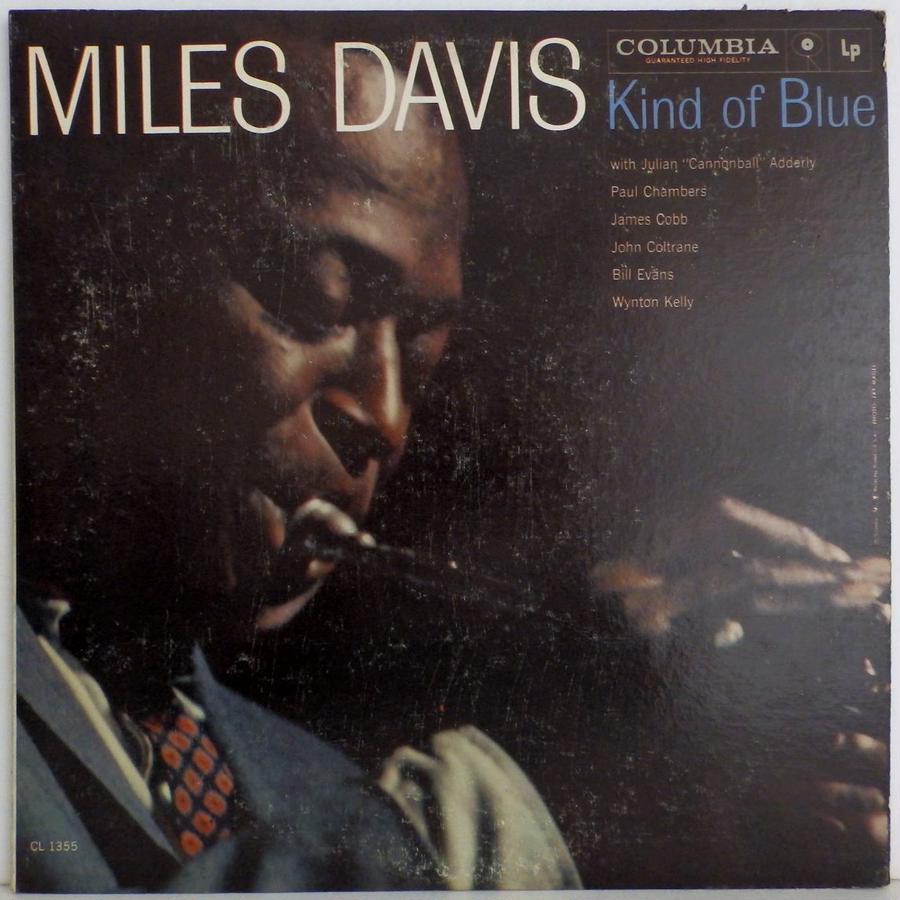 オリジナル 激レア 貴重 誤植! 6 eyes MONO 両面 深溝 US盤 MILES DAVIS Kind of blue JOHN COLTRANE BILL EVANS 世紀の名作