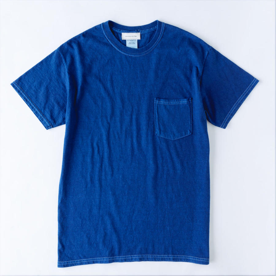Pocket T-shirt / Indigo Blue