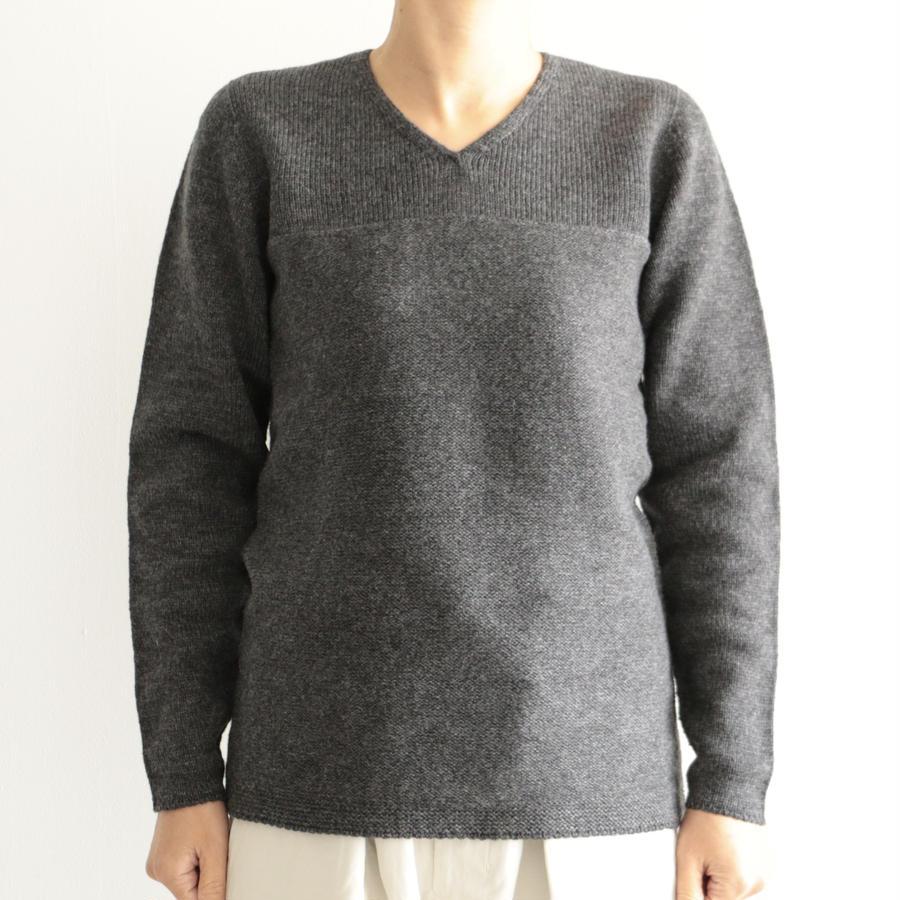 COSMIC WONDER/タスマニアウールのセーター(lady's/DARK GRAY)