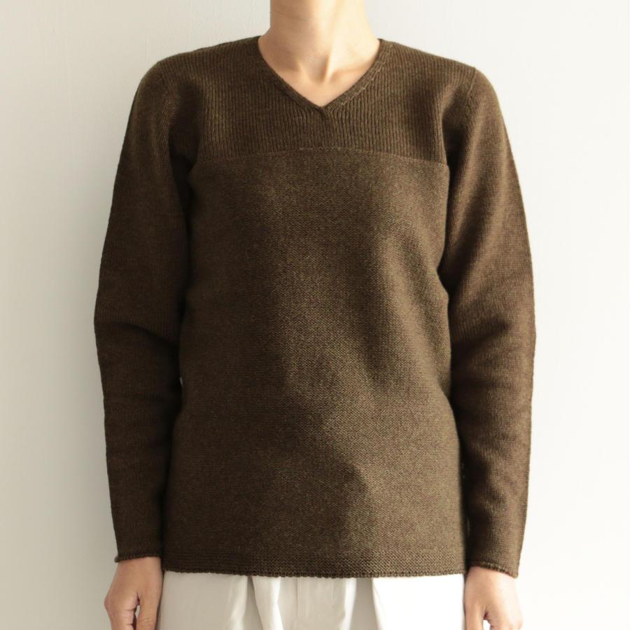 COSMIC WONDER/タスマニアウールのセーター(lady's/GREEN)