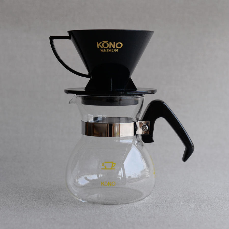 KONO|Coffee Dripper Set [BK] - 2人用