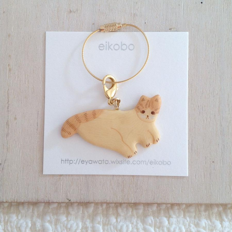 eikobo  |  猫バッグチャーム