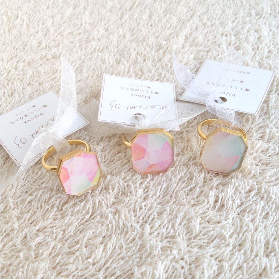 marumi03 | bijoux 瑞々しい宝石たち・指輪