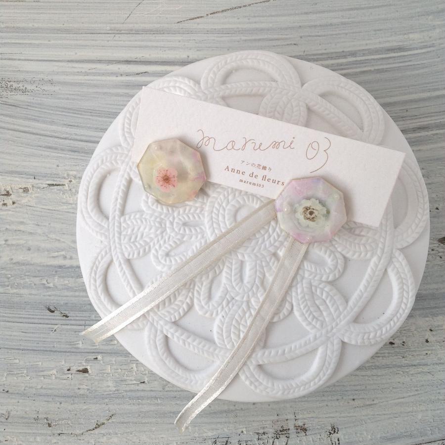 marumi03 | アンの花飾り・ピアス