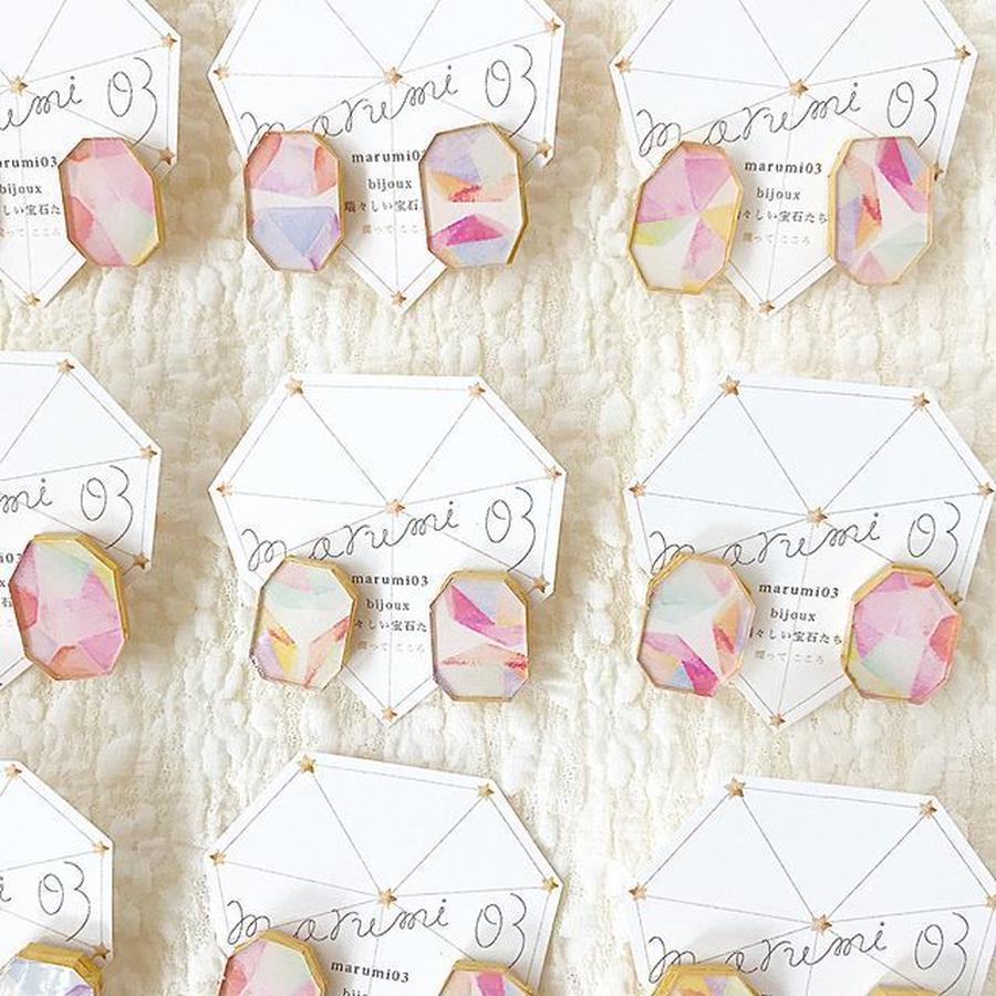 marumi03 | bijoux 瑞々しい宝石たち・ピアス