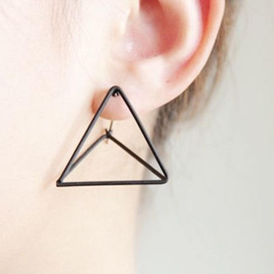 【To U DEPARTMENT】TRIANGLE  FLAME PIERCE  | BLACK