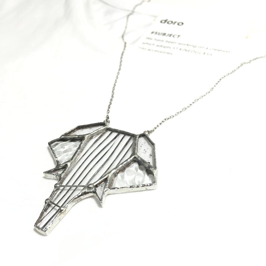 【受注制作】Elephant  necklace 象ネックレス