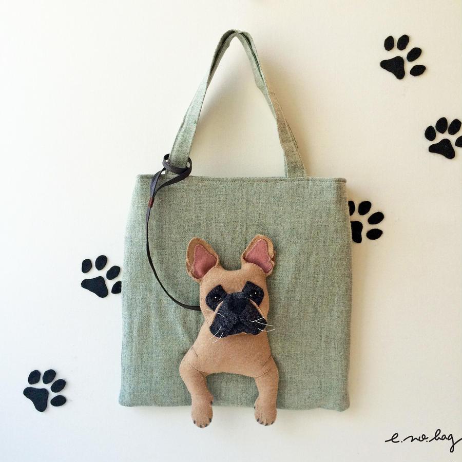 inu no bag ....French bulldog fawn ( イヌ ノ バッグ....フレンチブルドッグ  ) フォーン