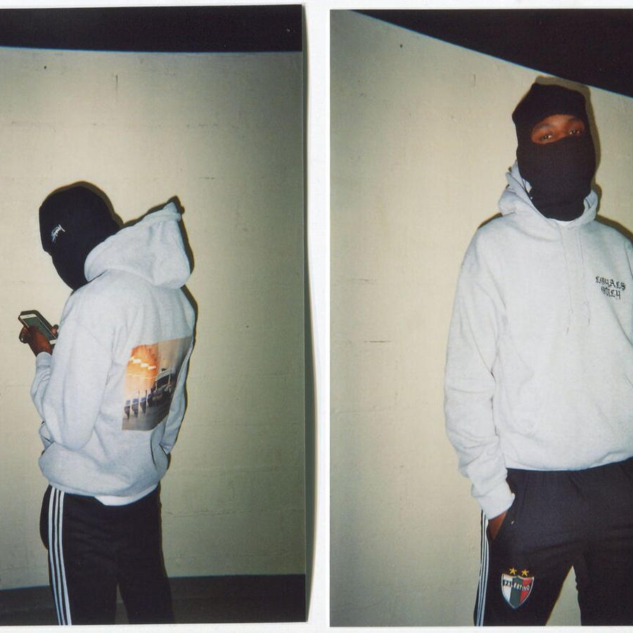 ACAB HOODIE heather grey