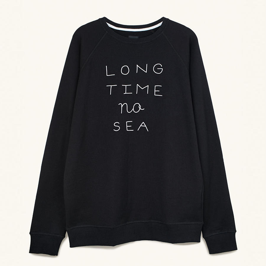 [PLEASANT] LONG TIME NO SEA BLACK SWEAT