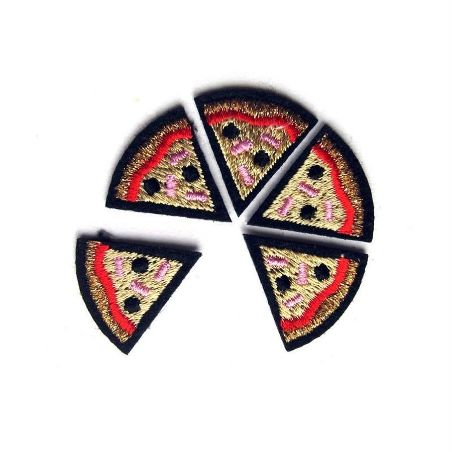 """PIZZA"" PATCHES CARD ワッペン"