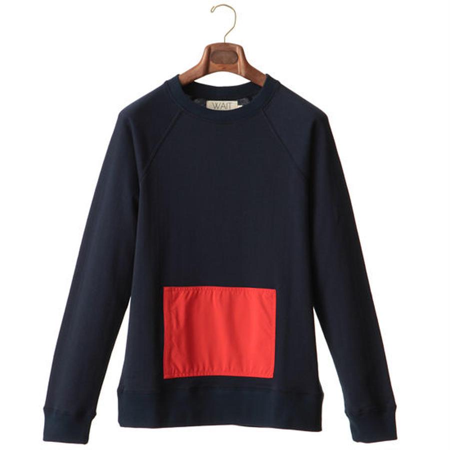 WAIT Paris Sweatshirt Long Sleeves Kangaroo Homie