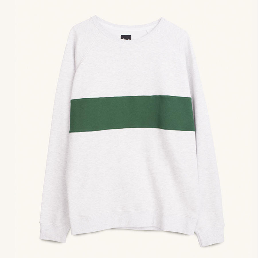 [PLEASANT] RETRO MELANGE SWEAT