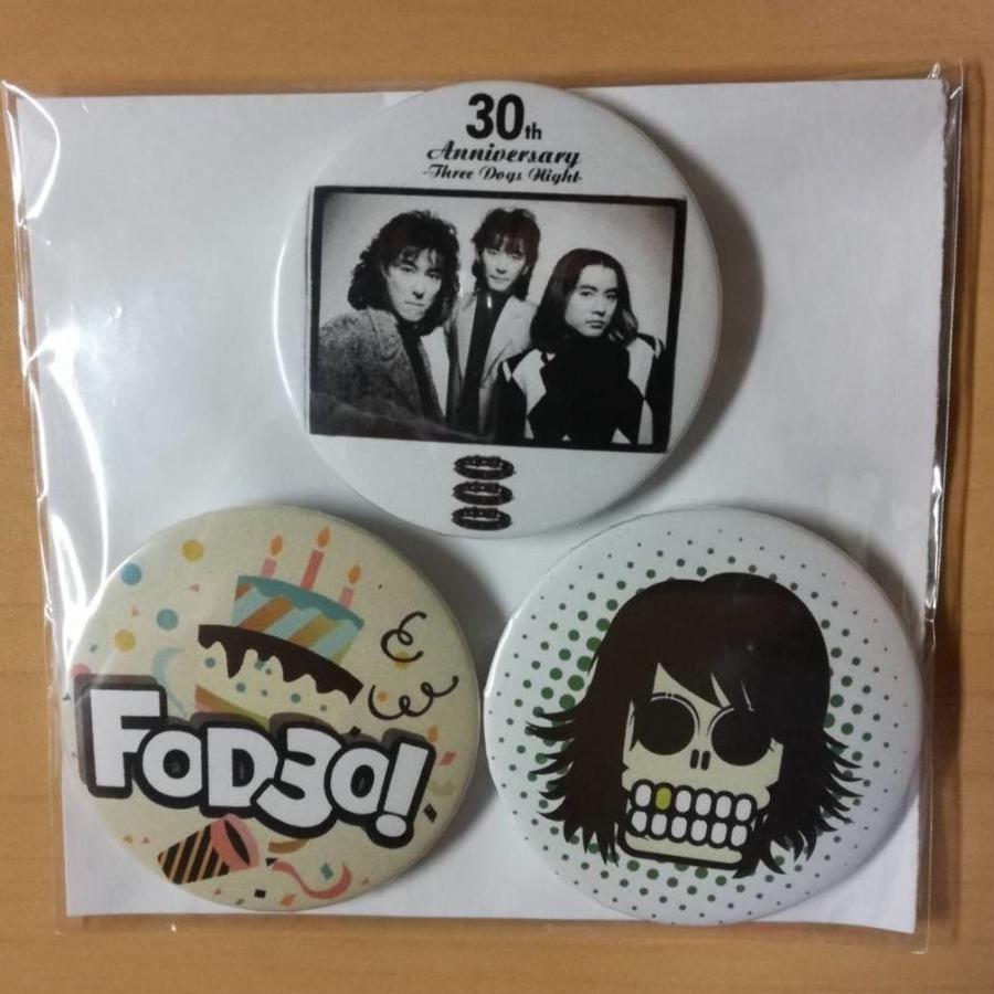 Three Dogs Night 缶バッジ(3個SET)