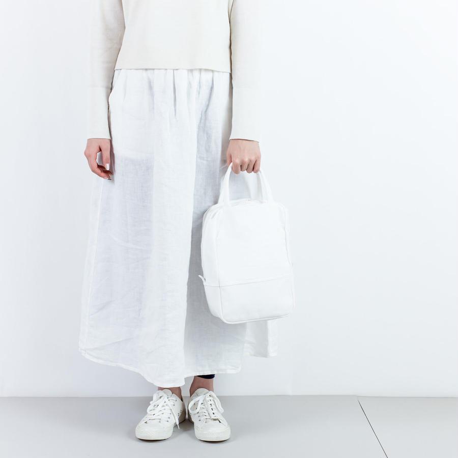 ミニボストンバッグ(A)白