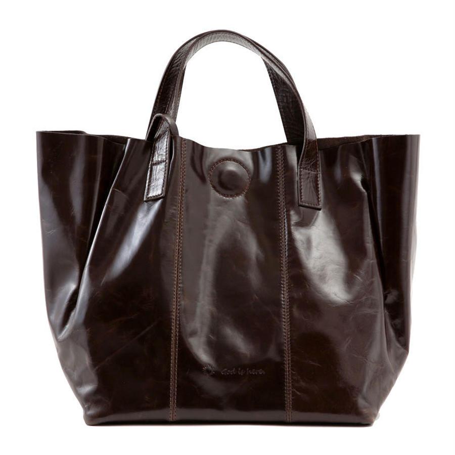 牛革製バッグ/ケイト ディープブラウン