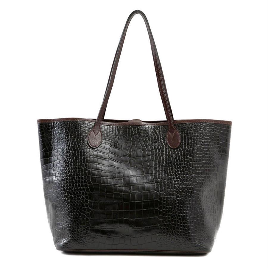 牛革製バッグ/ジュリエット ブラック