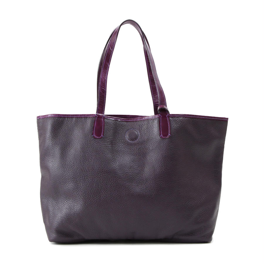 牛革製バッグ/ナオミ ディープパープルL