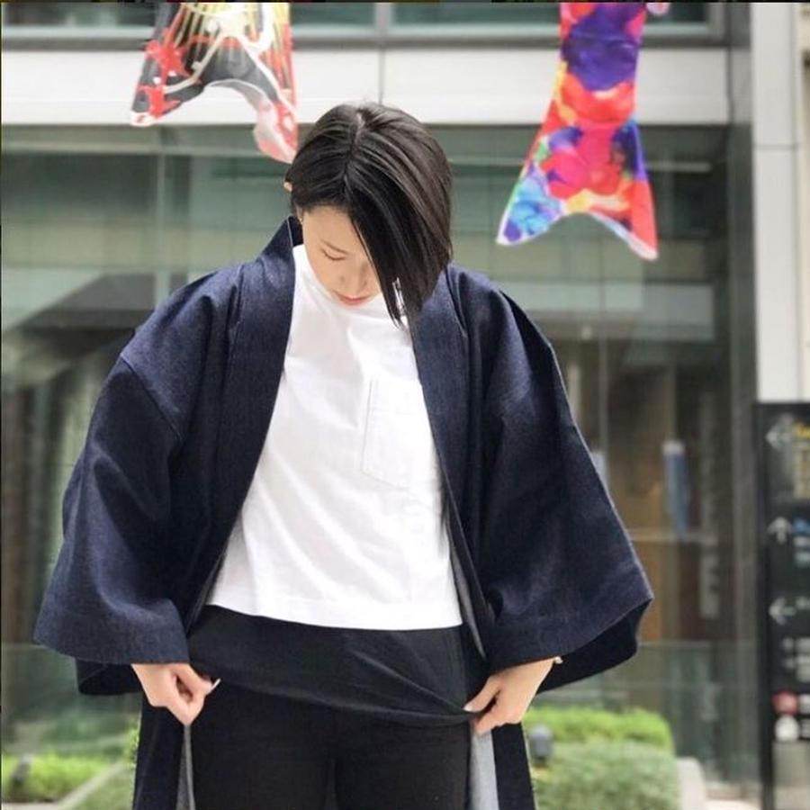 INDIGO SINGLE 04 DENIM 法被 はっぴ