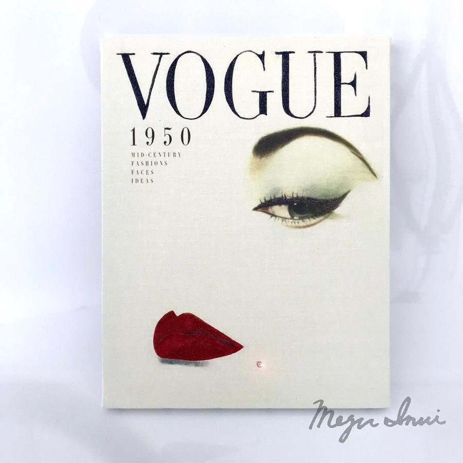 """Vintage VOGUE Deco  """"face"""""""