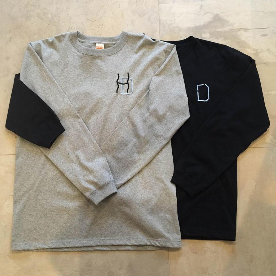HDlogo(wavy remix) LongTshirts