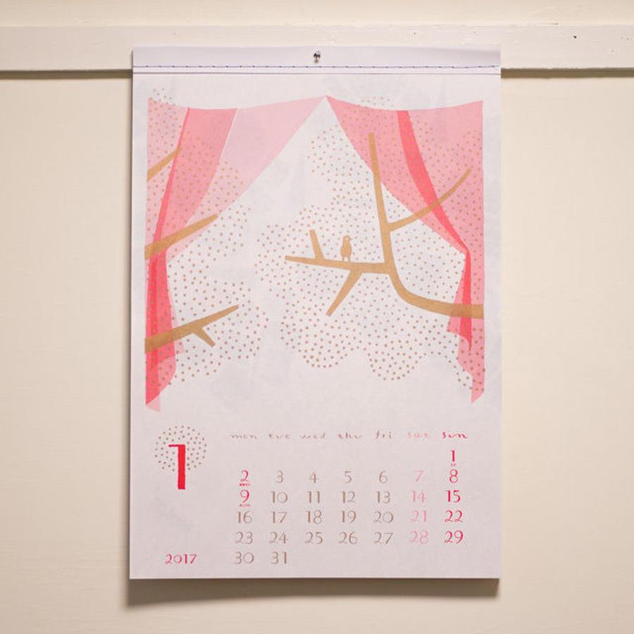 hachigatsuカレンダー2017
