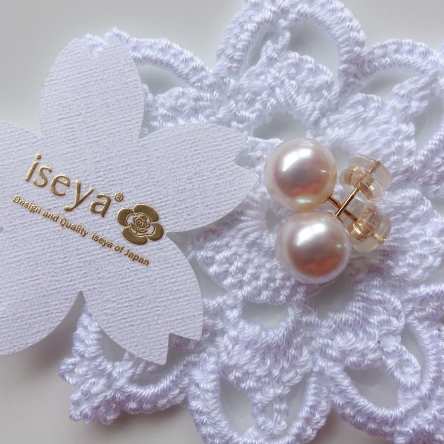 10.0mmAkoya Pearl Earrings