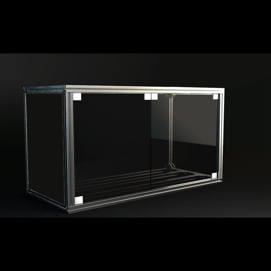 Jigsoma Aqua Stand W900H700用スモークガラスフロントドア