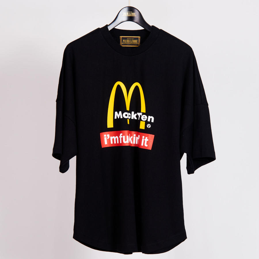MACK TEN TEE SHIRTS(BLACK)