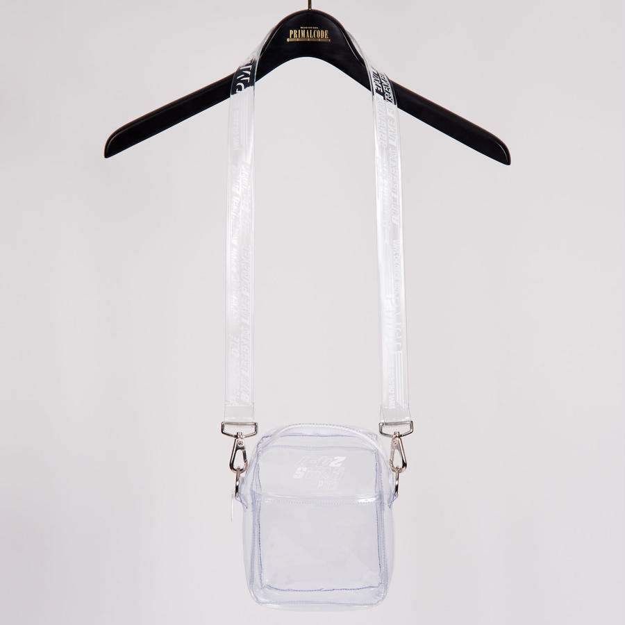 CLEAR SHOULDER BAG(CLEAR)