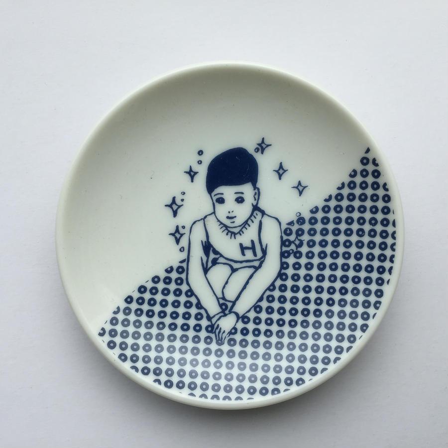 ケイ子のYES豆皿(ごあいさつ)