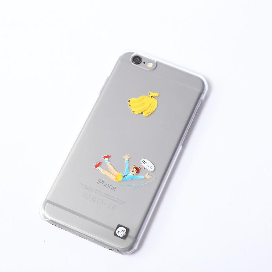 iPhone6、6Sケース[バナナ]