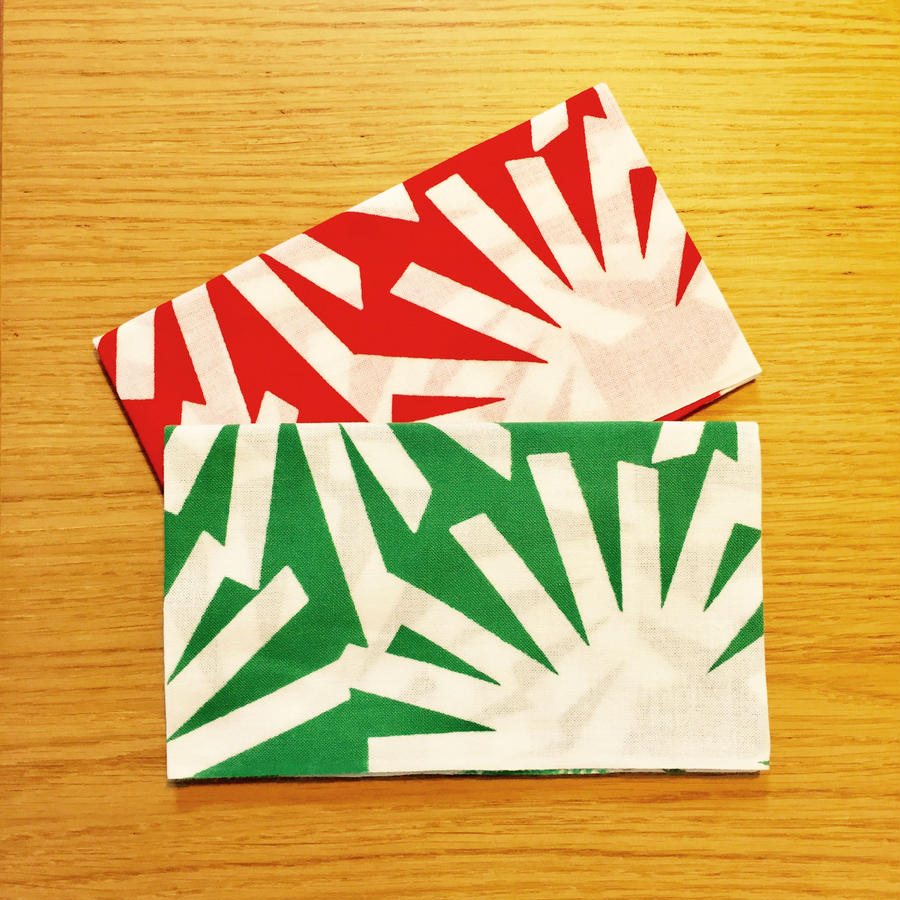松てぬぐい  Green / Red 各¥1080