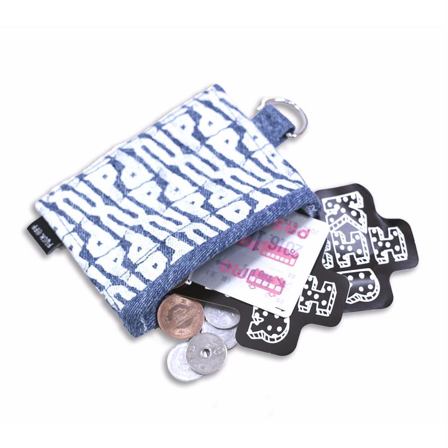 Upup Wallet <Wash Blue Denim>