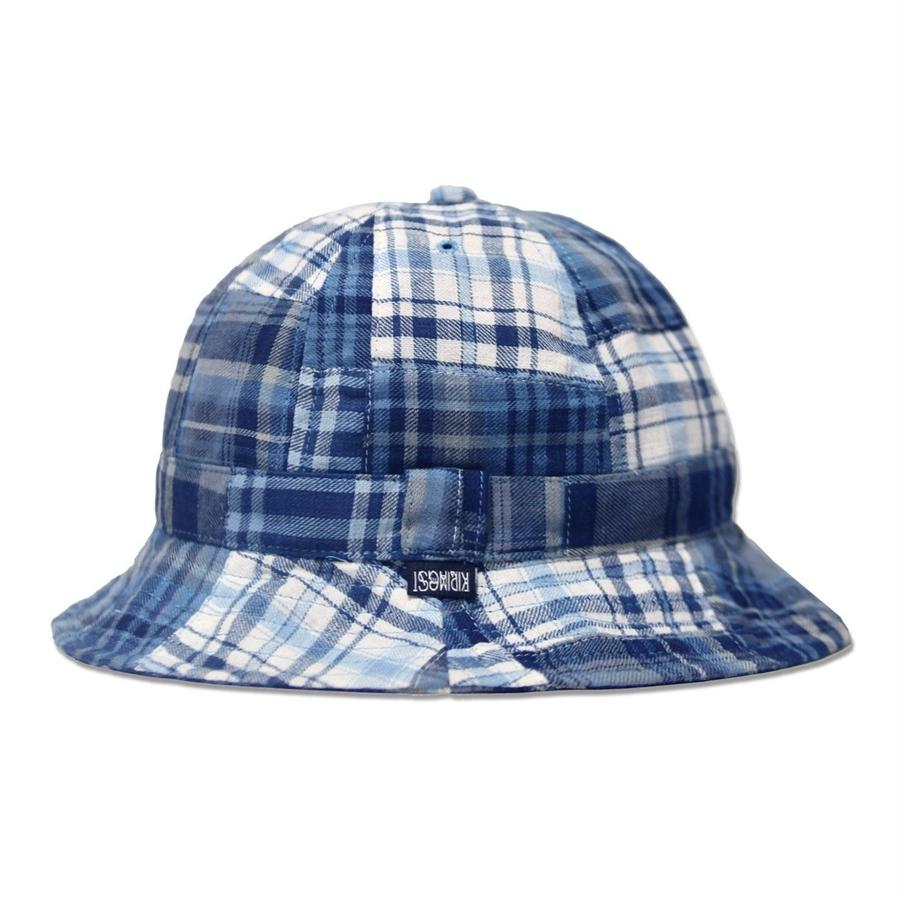 Skate Bell Hat    <Plaid Patchwork>
