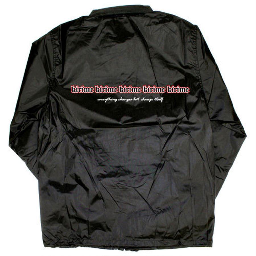 Layer Logo Coach Jacket
