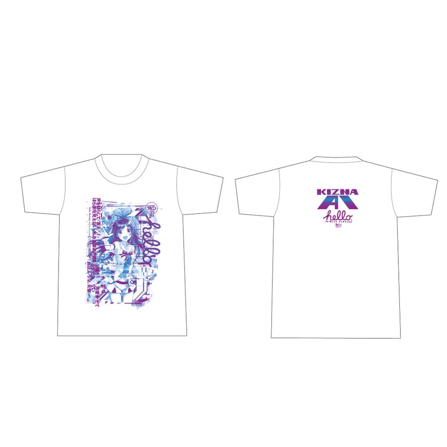 Pa's Lam System × Kizuna AI Tシャツ White
