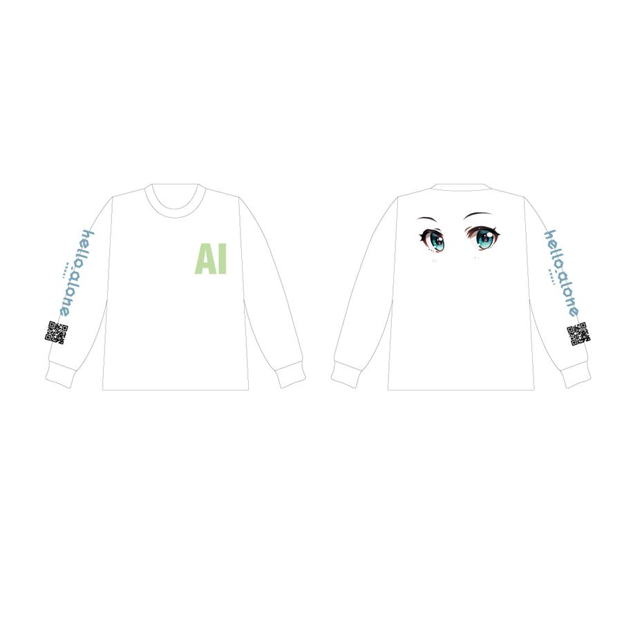 MATZ × Kizuna AI ロングスリーブT White
