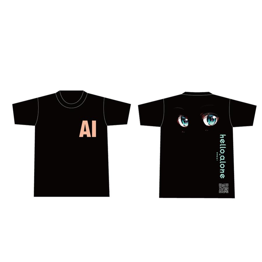 MATZ × Kizuna AI Tシャツ Black