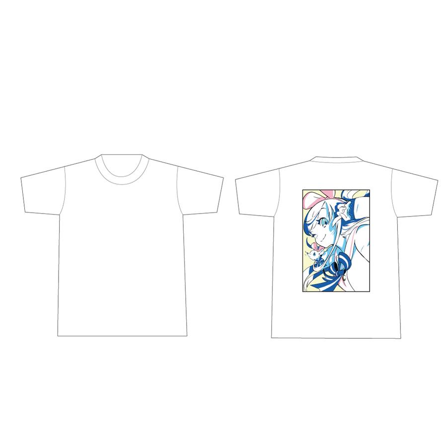 DE DE MOUSE × Kizuna AI Tシャツ White