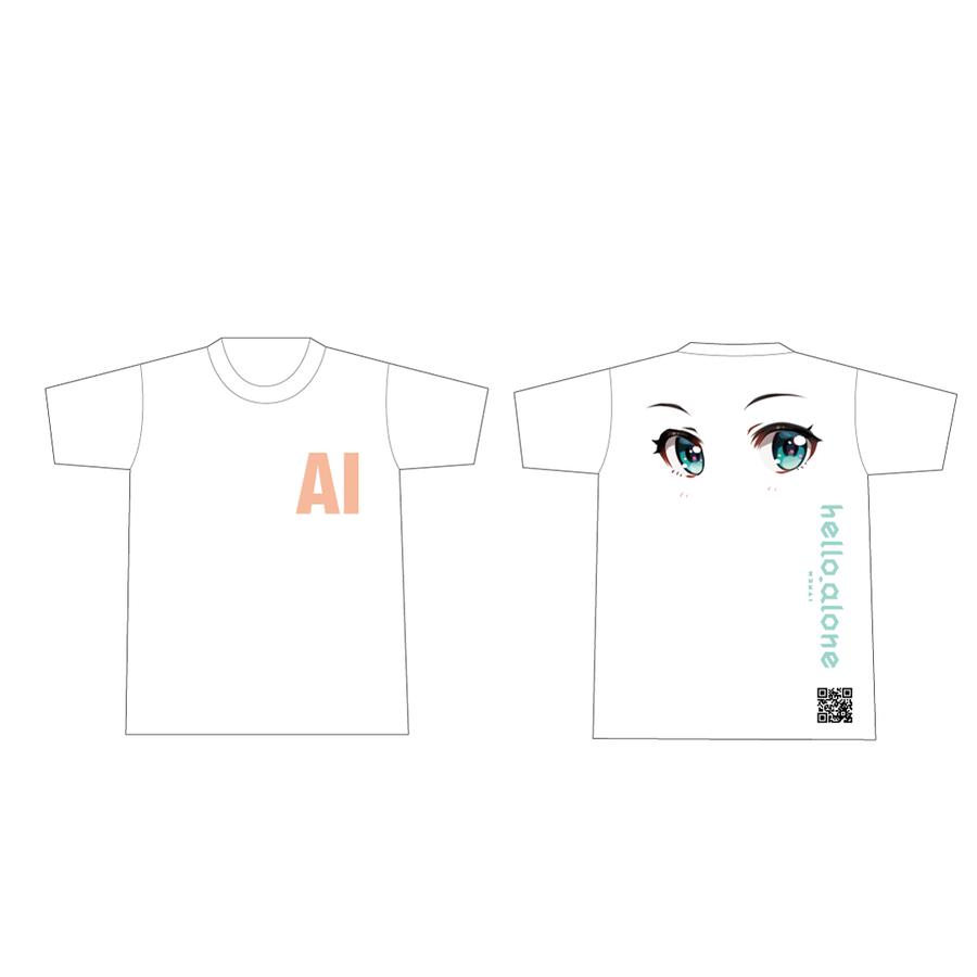 MATZ × Kizuna AI Tシャツ White