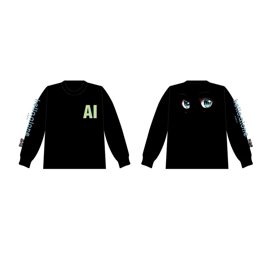 MATZ × Kizuna AI ロングスリーブT Black