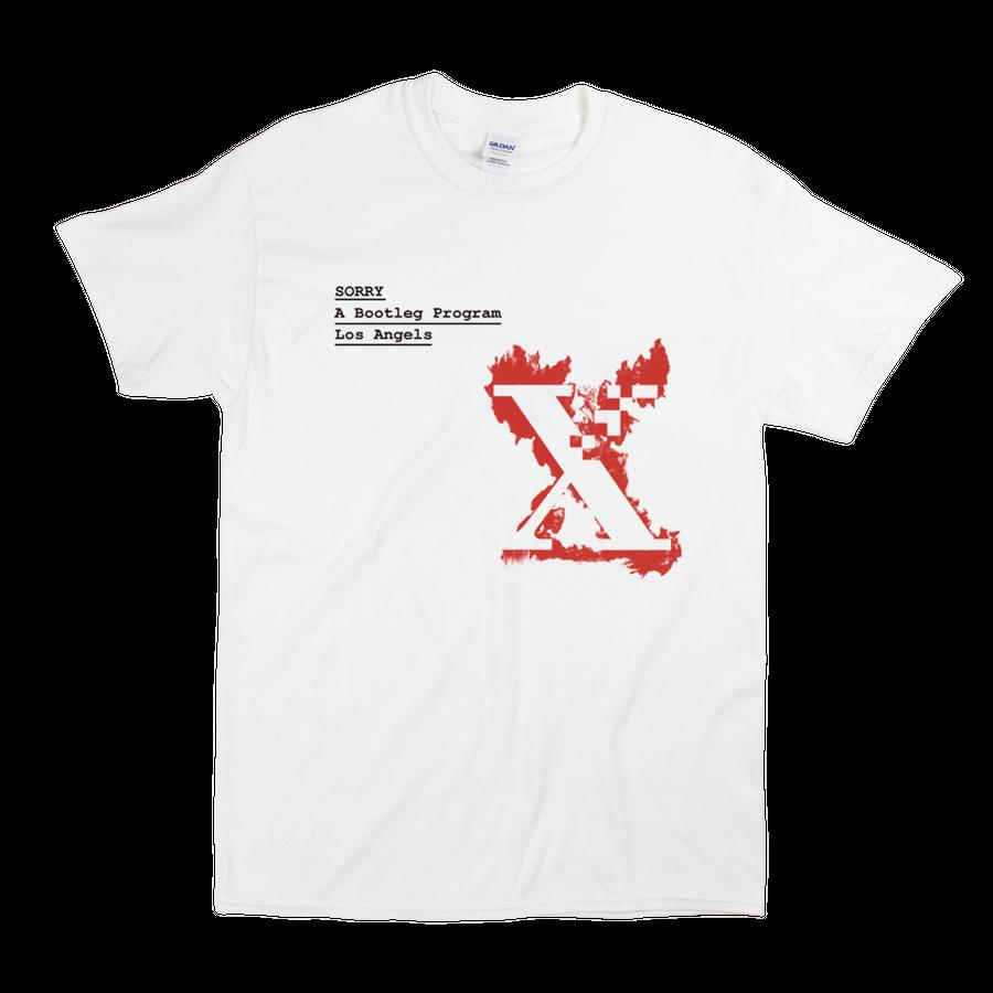 SORRY  - Fire Xerox Tee -White