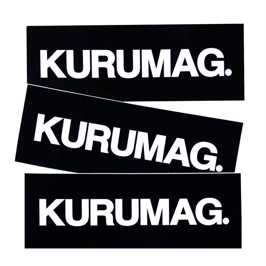 KURUMAG.  STICKER
